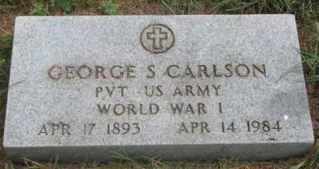 CARLSON, GEORGE S. - Lincoln County, South Dakota | GEORGE S. CARLSON - South Dakota Gravestone Photos