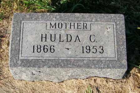 CARLSON, HULDA C. - Lincoln County, South Dakota | HULDA C. CARLSON - South Dakota Gravestone Photos