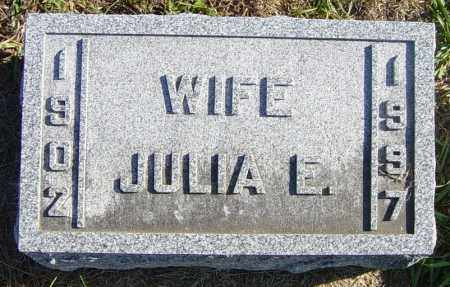 CARLSON, JULIA E - Lincoln County, South Dakota | JULIA E CARLSON - South Dakota Gravestone Photos