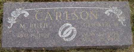 CARLSON, M RUTH - Lincoln County, South Dakota | M RUTH CARLSON - South Dakota Gravestone Photos