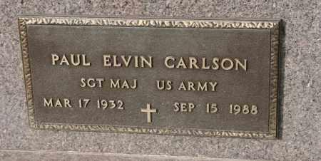 CARLSON, PAUL ELVIN - Lincoln County, South Dakota | PAUL ELVIN CARLSON - South Dakota Gravestone Photos