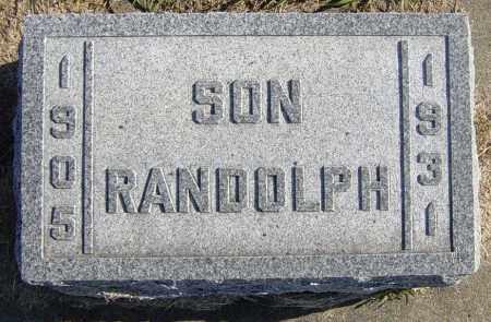 CARLSON, RANDOLPH - Lincoln County, South Dakota | RANDOLPH CARLSON - South Dakota Gravestone Photos