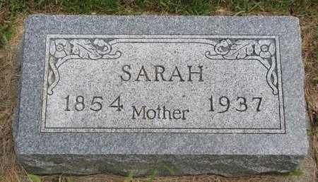 CARLSON, SARAH - Lincoln County, South Dakota   SARAH CARLSON - South Dakota Gravestone Photos