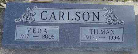 CARLSON, VERA - Lincoln County, South Dakota | VERA CARLSON - South Dakota Gravestone Photos