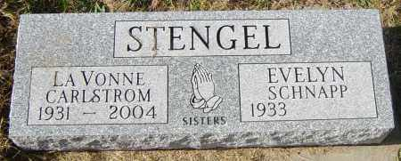 STENGEL CARLSTROM, LAVONNE - Lincoln County, South Dakota | LAVONNE STENGEL CARLSTROM - South Dakota Gravestone Photos