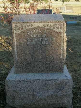 CARPENTER, DAGMA A - Lincoln County, South Dakota | DAGMA A CARPENTER - South Dakota Gravestone Photos