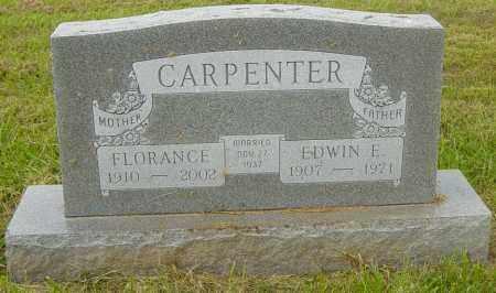 CARPENTER, FLORANCE - Lincoln County, South Dakota   FLORANCE CARPENTER - South Dakota Gravestone Photos