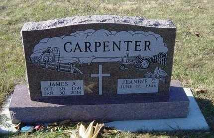 CARPENTER, JAMES A - Lincoln County, South Dakota | JAMES A CARPENTER - South Dakota Gravestone Photos
