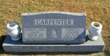 STALKER CARPENTER, EUNICE L - Lincoln County, South Dakota | EUNICE L STALKER CARPENTER - South Dakota Gravestone Photos
