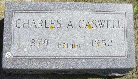 CASWELL, CHARLES A - Lincoln County, South Dakota | CHARLES A CASWELL - South Dakota Gravestone Photos