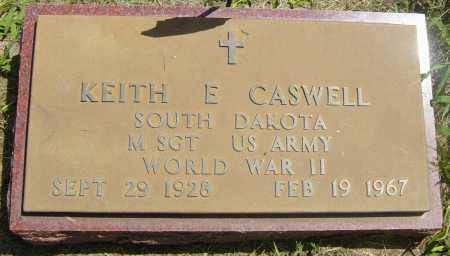 CASWELL, KEITH E - Lincoln County, South Dakota   KEITH E CASWELL - South Dakota Gravestone Photos