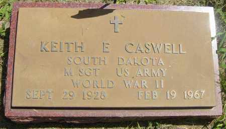 CASWELL, KEITH E - Lincoln County, South Dakota | KEITH E CASWELL - South Dakota Gravestone Photos