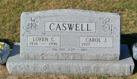 CASWELL, LOREN C - Lincoln County, South Dakota | LOREN C CASWELL - South Dakota Gravestone Photos