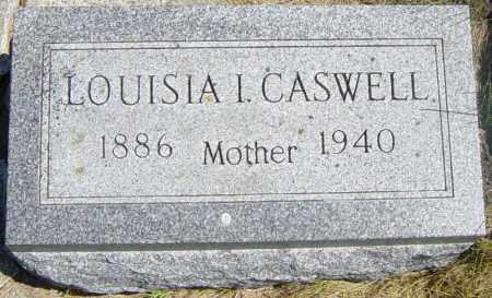 CASWELL, LOUISIA I - Lincoln County, South Dakota | LOUISIA I CASWELL - South Dakota Gravestone Photos