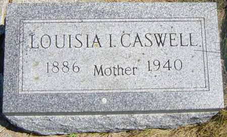 CASWELL, LOUISIA I - Lincoln County, South Dakota | LOUISIA I CASWELL - South Dakota Gravestone Photos