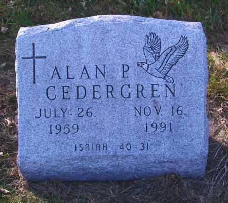 CEDERGREN, ALAN P. - Lincoln County, South Dakota | ALAN P. CEDERGREN - South Dakota Gravestone Photos