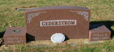 CEDERSTROM, STELLA M - Lincoln County, South Dakota | STELLA M CEDERSTROM - South Dakota Gravestone Photos