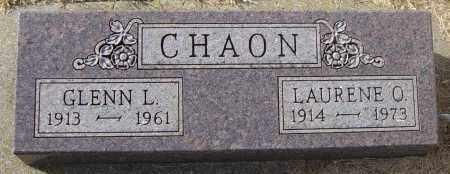 CHAON, GLENN L - Lincoln County, South Dakota | GLENN L CHAON - South Dakota Gravestone Photos