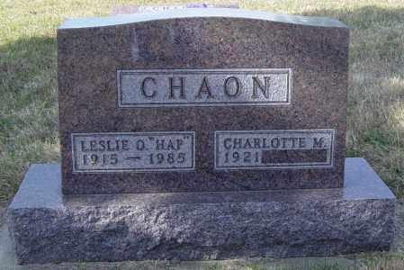 CHAON, CHARLOTTE M - Lincoln County, South Dakota | CHARLOTTE M CHAON - South Dakota Gravestone Photos