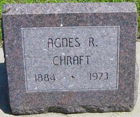 CHRAFT, AGNES R - Lincoln County, South Dakota | AGNES R CHRAFT - South Dakota Gravestone Photos