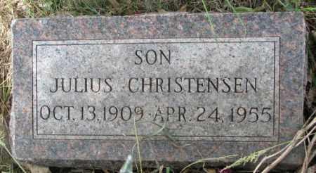 CHRISTENSEN, JULIUS - Lincoln County, South Dakota | JULIUS CHRISTENSEN - South Dakota Gravestone Photos