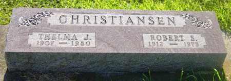 CHRISTIANSEN, THELMA J - Lincoln County, South Dakota   THELMA J CHRISTIANSEN - South Dakota Gravestone Photos