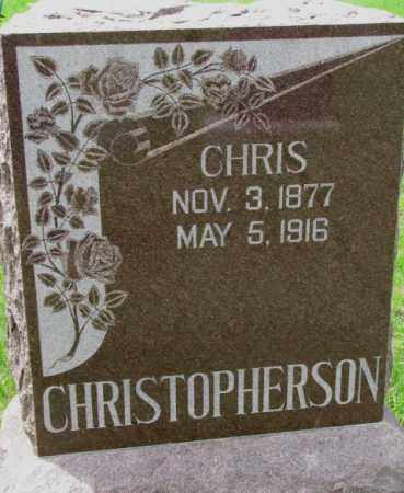 CHRISTOPHERSON, CHRIS - Lincoln County, South Dakota | CHRIS CHRISTOPHERSON - South Dakota Gravestone Photos