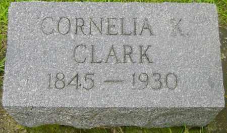 CLARK, CORNELIA K - Lincoln County, South Dakota   CORNELIA K CLARK - South Dakota Gravestone Photos