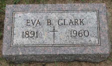 CLARK, EVA B. - Lincoln County, South Dakota | EVA B. CLARK - South Dakota Gravestone Photos