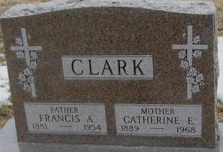 CLARK, CATHERINE E. - Lincoln County, South Dakota | CATHERINE E. CLARK - South Dakota Gravestone Photos