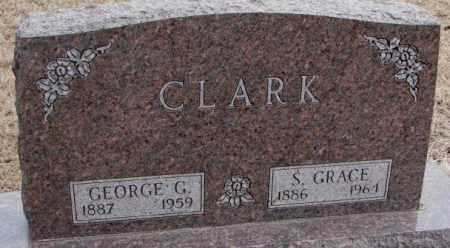 CLARK, S. GRACE - Lincoln County, South Dakota   S. GRACE CLARK - South Dakota Gravestone Photos