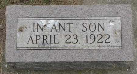 CLARK, INFANT SON - Lincoln County, South Dakota | INFANT SON CLARK - South Dakota Gravestone Photos
