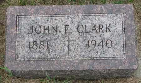 CLARK, JOHN EDWARD - Lincoln County, South Dakota | JOHN EDWARD CLARK - South Dakota Gravestone Photos
