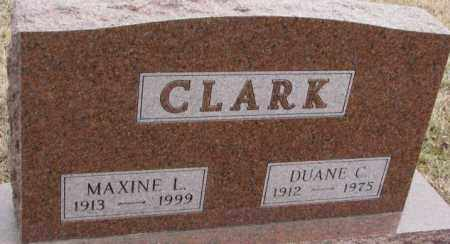 CLARK, MAXINE L. - Lincoln County, South Dakota | MAXINE L. CLARK - South Dakota Gravestone Photos