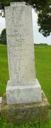CLARK, MARY - Lincoln County, South Dakota   MARY CLARK - South Dakota Gravestone Photos