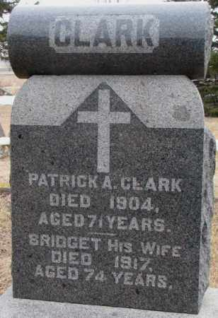 CLARK, PATRICK A. - Lincoln County, South Dakota | PATRICK A. CLARK - South Dakota Gravestone Photos