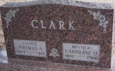 CLARK, CAROLINE O. - Lincoln County, South Dakota | CAROLINE O. CLARK - South Dakota Gravestone Photos