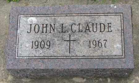 CLAUDE, JOHN L. - Lincoln County, South Dakota | JOHN L. CLAUDE - South Dakota Gravestone Photos