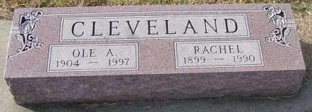 CLEVELAND, OLE A - Lincoln County, South Dakota | OLE A CLEVELAND - South Dakota Gravestone Photos