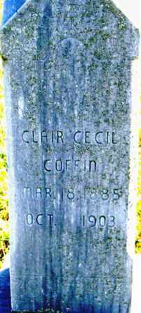 COFFIN, CLAIR CECIL - Lincoln County, South Dakota | CLAIR CECIL COFFIN - South Dakota Gravestone Photos