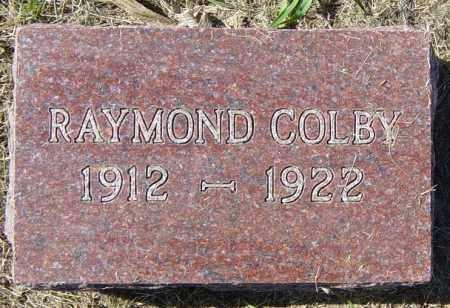 COLBY, RAYMOND - Lincoln County, South Dakota | RAYMOND COLBY - South Dakota Gravestone Photos