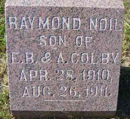 COLBY, RAYMOND NOIL - Lincoln County, South Dakota | RAYMOND NOIL COLBY - South Dakota Gravestone Photos
