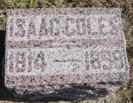 COLES, REV ISAAC - Lincoln County, South Dakota | REV ISAAC COLES - South Dakota Gravestone Photos