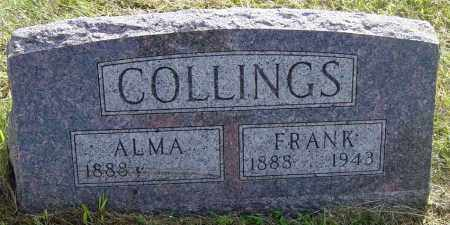 COLLINGS, ALMA - Lincoln County, South Dakota | ALMA COLLINGS - South Dakota Gravestone Photos