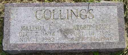 COLLINGS, ARCHIE BRUCE - Lincoln County, South Dakota | ARCHIE BRUCE COLLINGS - South Dakota Gravestone Photos