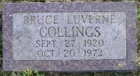 COLLINGS, BRUCE LUVERNE - Lincoln County, South Dakota | BRUCE LUVERNE COLLINGS - South Dakota Gravestone Photos