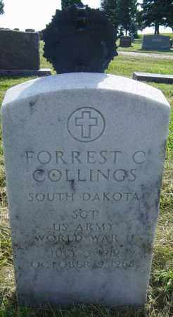 COLLINGS, FORREST C - Lincoln County, South Dakota | FORREST C COLLINGS - South Dakota Gravestone Photos