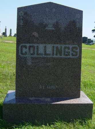 COLLINGS FAMILY MEMORIAL, GEORGE - Lincoln County, South Dakota | GEORGE COLLINGS FAMILY MEMORIAL - South Dakota Gravestone Photos