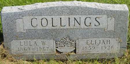 COLLINGS, LULA W - Lincoln County, South Dakota | LULA W COLLINGS - South Dakota Gravestone Photos