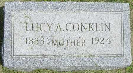 CONKLIN, LUCY A - Lincoln County, South Dakota | LUCY A CONKLIN - South Dakota Gravestone Photos